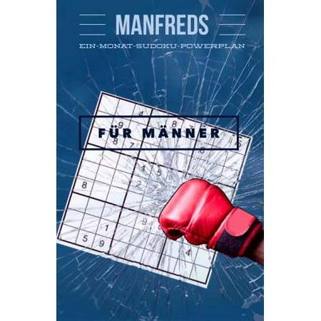 Manfreds Ein-Monat-Sudoku-Powerplan Fur Manner (Trendige Brille Für Männer)