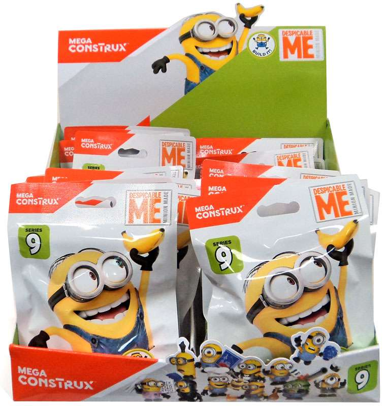 Mega Bloks Despicable Me Minion Made Mystery Minions Series 9 Mystery Box by