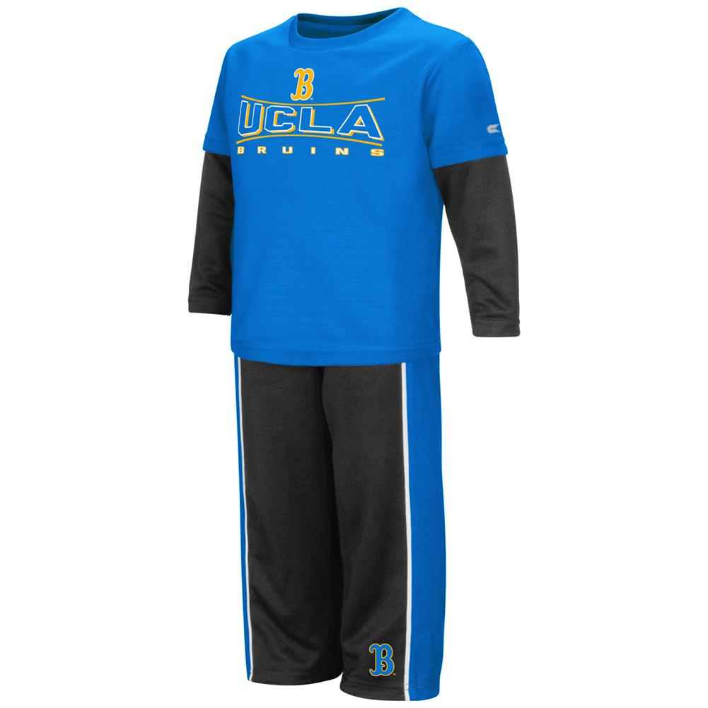 Toddler Boys' UCLA Bruins Long Sleeve Shirt and Pant Set by Colosseum