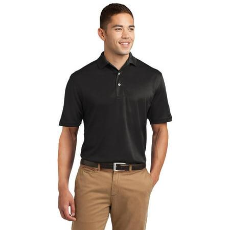 Sport Tek Sport Tek K469 Mens Dri Mesh Polo Shirt Black L
