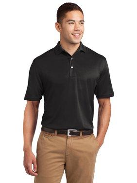 597a16890 Product Image Sport-Tek TK469 Mens Tall Dri-Mesh Polo Shirt - Black - Large  Tall
