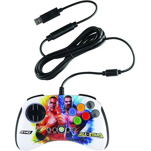 Mad Catz WWE All Stars BrawlPad for Xbox 360, The Rock vs Triple H