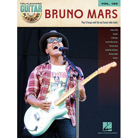Bruno Mars  Guitar Play Along Volume 180  Other