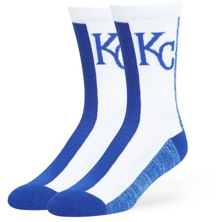 MLB Kansas City Royals Everett Crew Socks - Fan Favorite ()