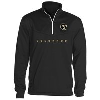 Colorado Buffaloes OVB Embroidered Team Logo Quarter Zip Pullover Sweatshirt (X-Large)