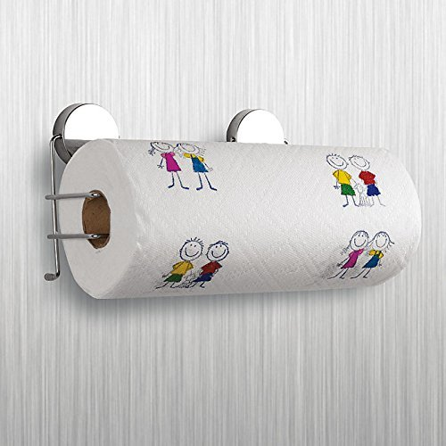 Stainless Steel Magnetic Kitchen Paper Towel Holder by By...