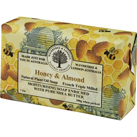 Australian Soapworks Wavertree & London 200g Soap Set of 4 - Honey & (Australian Honey)