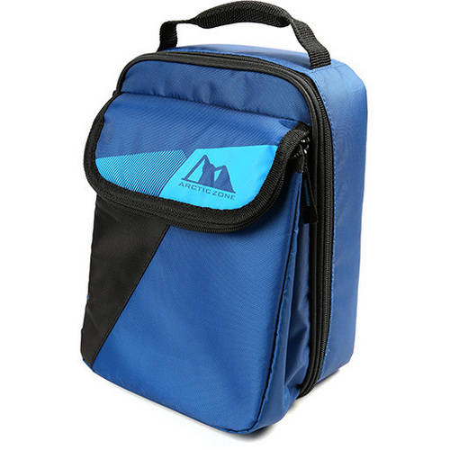 Arctic Zone Expandable Hard Body Lunch Box, Blue