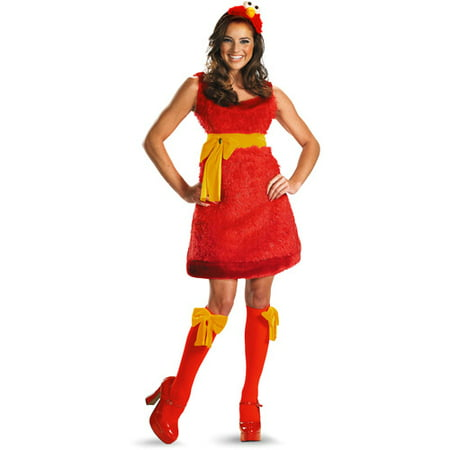 Elmo Adult Halloween Costume - 3t Elmo Costume