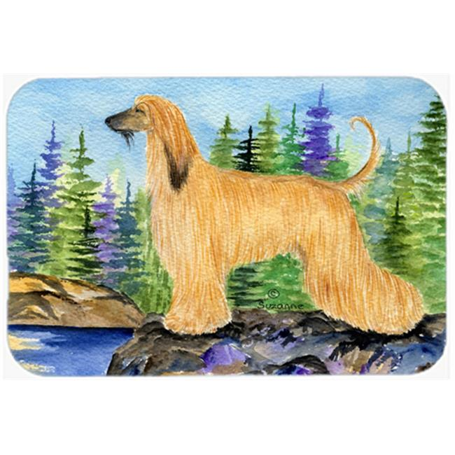 Afghan Hound Kitchen Or Bath Mat, 20 X 30 In.