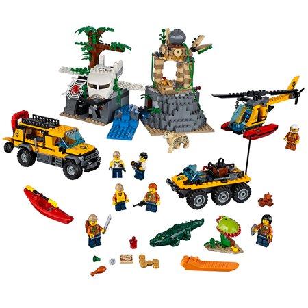 Lego City Jungle Explorers Jungle Exploration Site 60161
