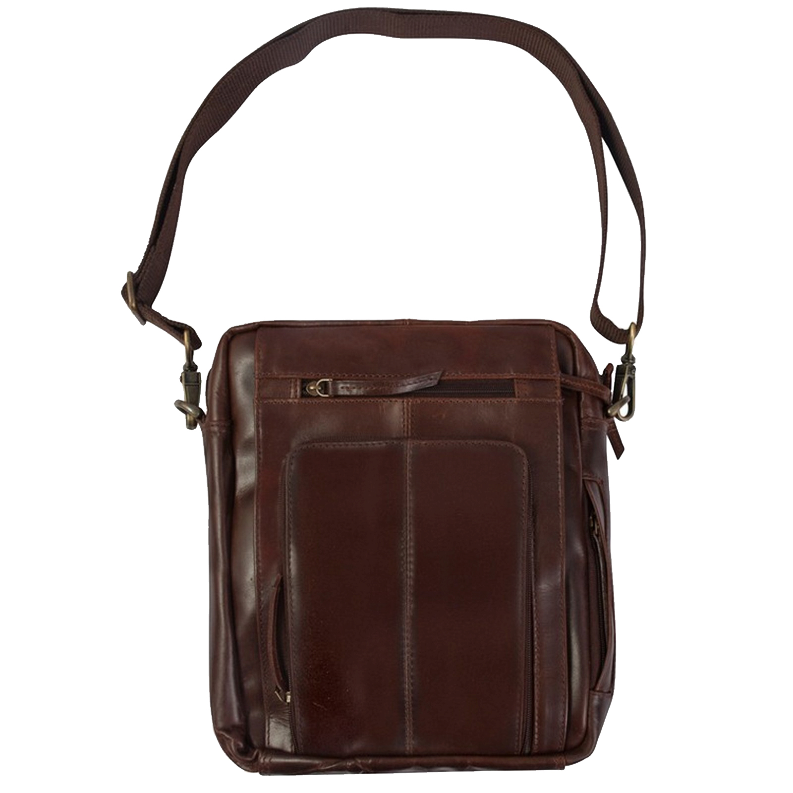 Canyon Outback Leather Monterey Leather Media Bag