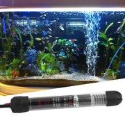 NEW 25W/50W/100W/200W/300W Professional Aquarium Accessories Submersible Heater Heating Rod for Aquarium Glass Fish Tank(Black)