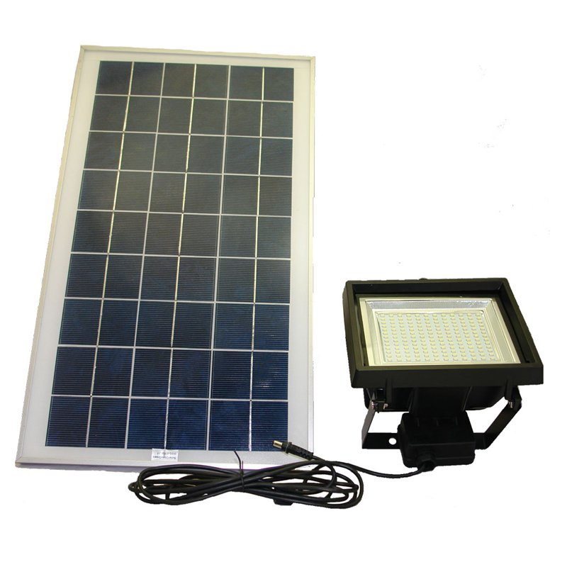 Solar Goes Green SGG-F156-3R LED Solar Flood Light With Remote Control