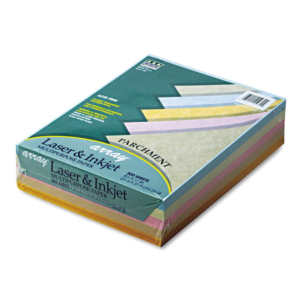 Multi color cardstock paper - Pacon Array Colored Bond Paper 24lb 8 1 2 X 11