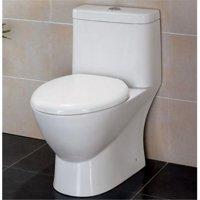 Modern Dual Flush One Piece Eco-Friendly Ceramic Toilet