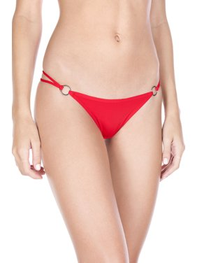 e5dab1af8 Product Image O-ring with back bow panty 10009-BLACK