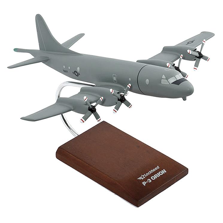 P-3C Orion (Low Vis) 1 85 Wood Desktop Model by