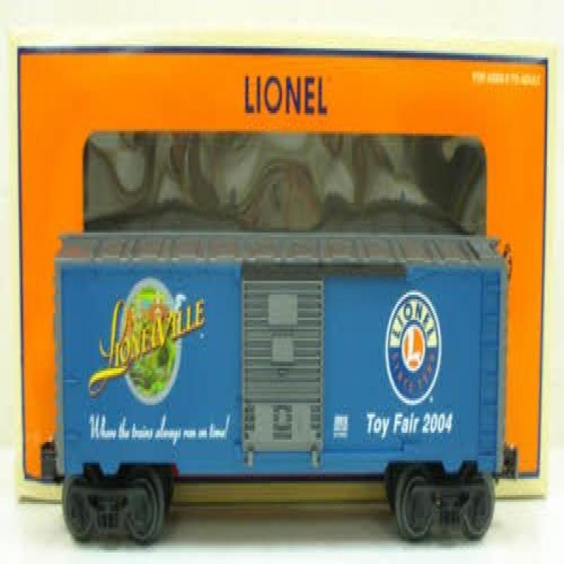 Lionel 6-29919 2004 Toy Fair Boxcar