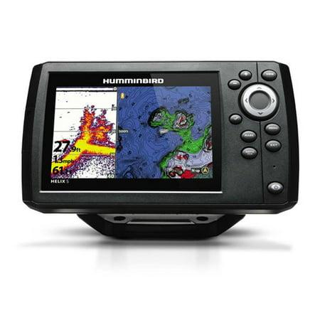 Humminbird HELIX 5 G2 Chirp Sonar/GPS Combo 410210-1 Humminbird Helix 5 G2 Chirp Sonar/GPS