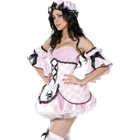 Smiffys Sexy Little Miss Muffet Adult Womens Halloween Costume