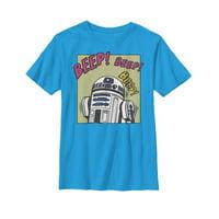 Star Wars Boys' R2-D2 Beep T-Shirt