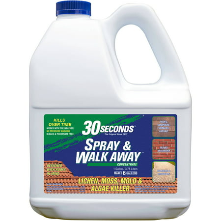 30 Seconds Spray and Walk Away, Outdoor Cleaner For Lichen ...
