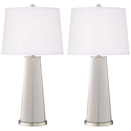 Color + Plus Silver Lining Metallic Leo Table Lamp Set of (2000 Silver Proof Set)