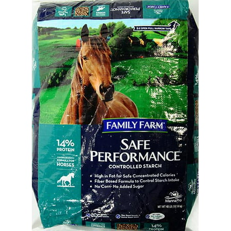 Family Farm Safe Performance Horse Feed, 40 (Best Weaver Horse Feeds)