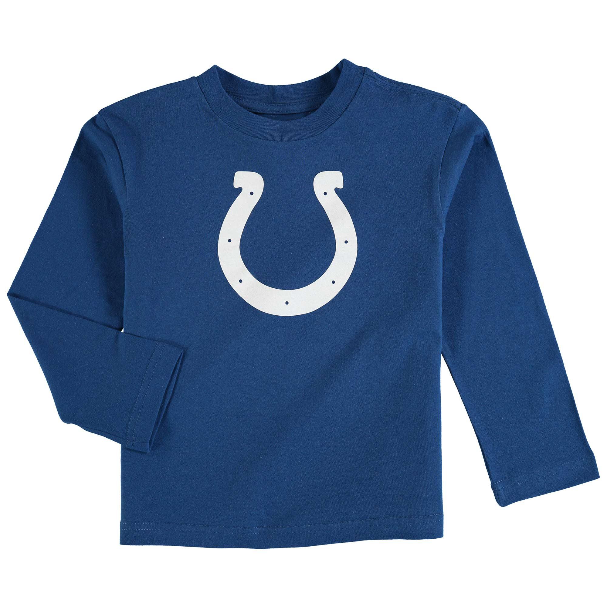 Indianapolis Colts Toddler Team Logo Long Sleeve T-Shirt - Royal