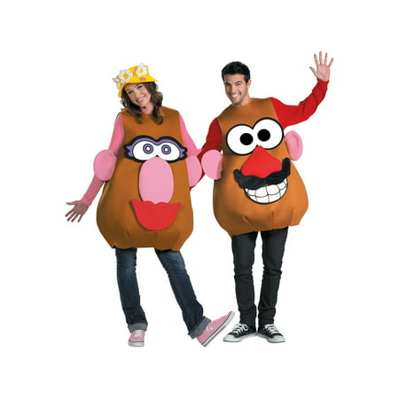 Mr / Mrs Potato Head Plus Size Costume - Plus Size Costumes For Couples