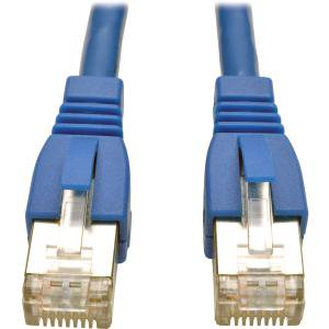 Tripp Lite 3ft Augmented Cat6 Cat6a Shielded 10G Patch Cable RJ45 M/M Blue 3' - 1.25 GBps - Patch Cable - 3 ft - 1 x RJ-45 Male Network - 1 x RJ-45 Male Network AUGMENTED STP SNAGLESS RJ45 MM (3 3-5 Mm To 1 3-5 Mm)