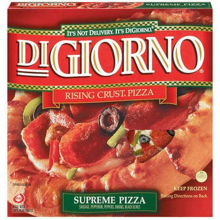 Digiorno Rising Crust Supreme Pizza 143 Oz Walmart