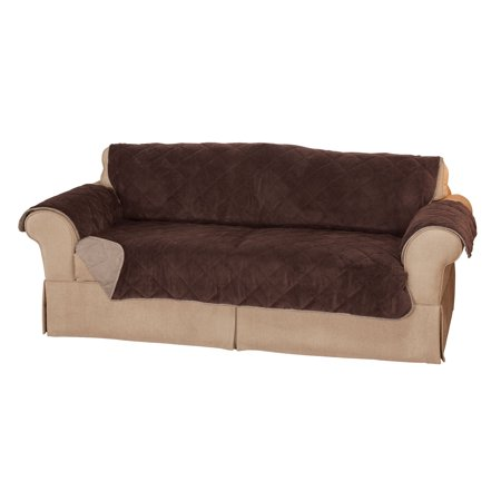 Plush to Suede Sofa Protector by OakRidgeTM