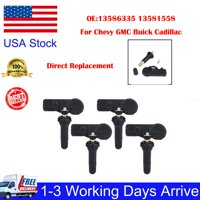 4PCS TPMS Tire Pressure Sensor For Chevy GMC Buick Cadillac In US Stock