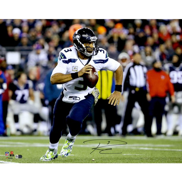 Russell Wilson Seattle Seahawks Autographed 16