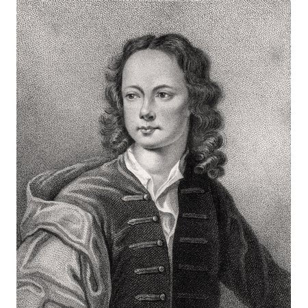 John Poulett 2Nd Earl Poulett 1708   1764 From The Book A Catalogue Of Royal And Noble Authors Volume Iv Published 1806 Posterprint