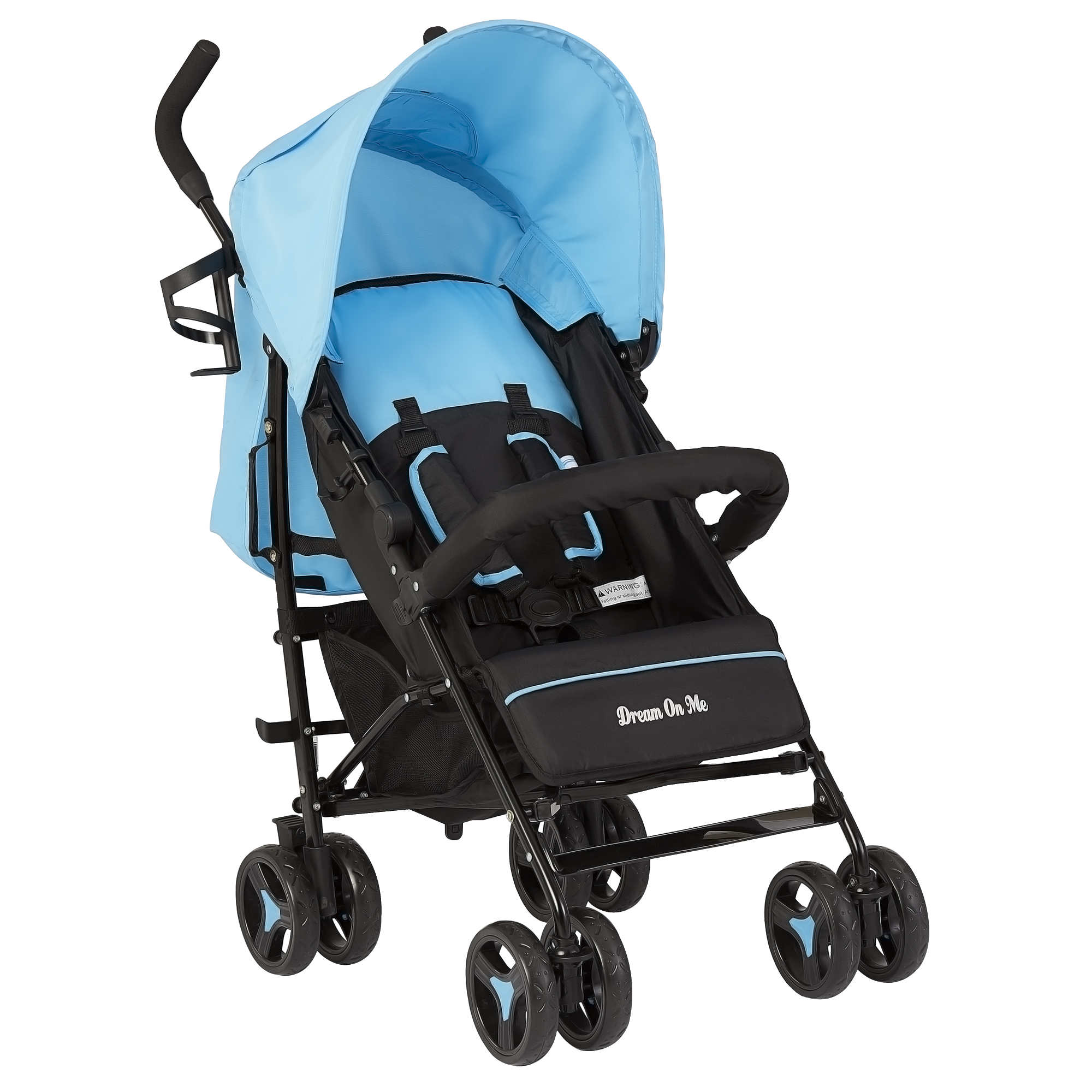 Dream On Me Jasper Lightweight Stroller in Grey by Dream On Me