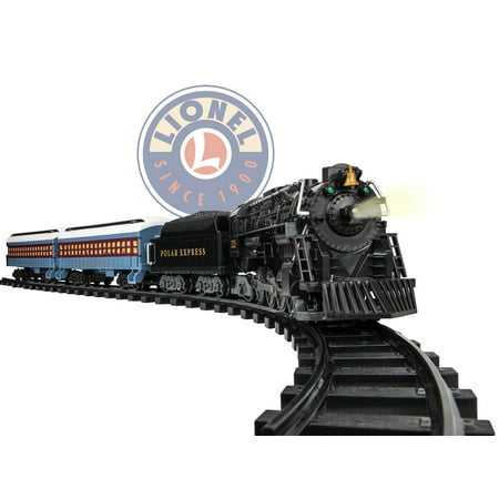 Lionel The Polar Express Battery-powered Model Train Set Ready to Play with (Best Train Set For 5 Year Old)