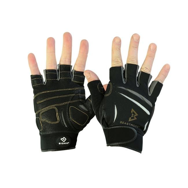 Women's Beast Mode Fingerless Fitness Gloves by Bionic Gloves