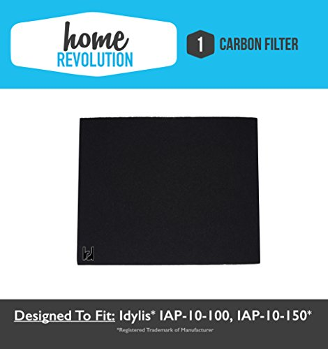 iafh100a idylis air purifier type a carbon filter replacement