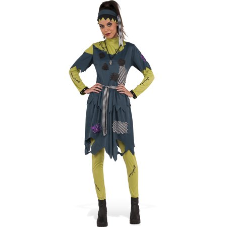 Womens Monster Costumes (Miss Fanny Stein Women Frankensteins Monster Halloween)