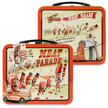 Meat Parade Lunchbox by Accoutrements - 12427