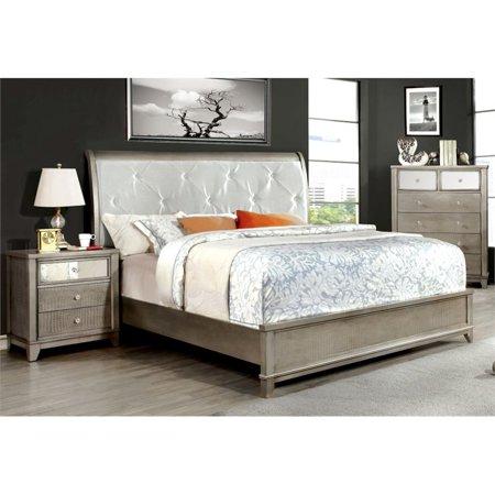 Furniture of america lilliane 3 piece queen sleigh bedroom - 5 piece queen sleigh bedroom set ...