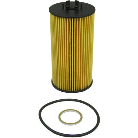ECOGARD X5579 Cartridge Engine Oil Filter for Conventional Oil - Premium Replacement Fits Audi S4, A8 Quattro, A6 Quattro, Allroad Quattro / Volkswagen Phaeton ()