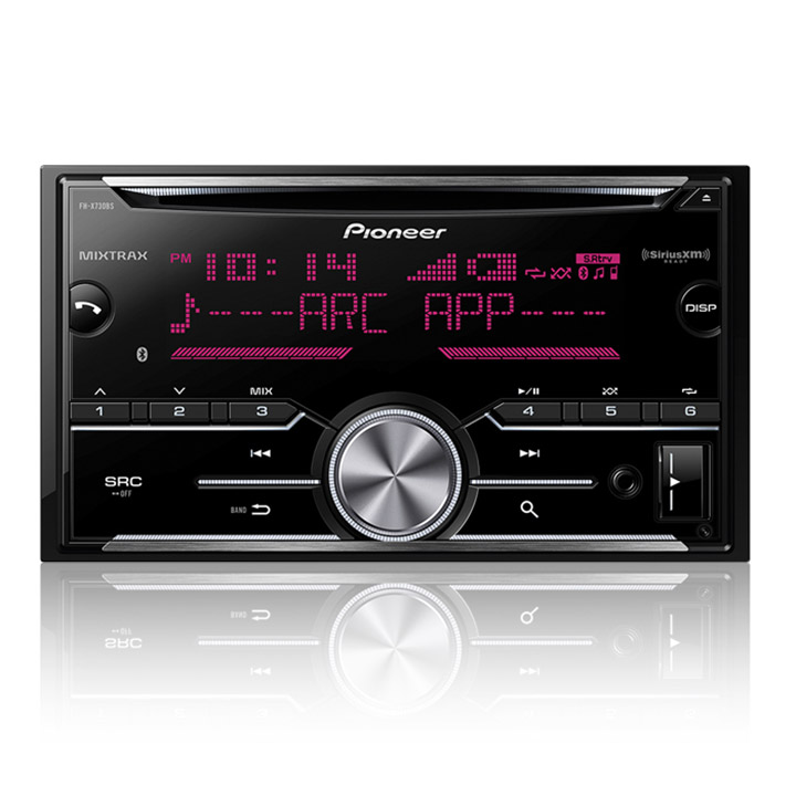 Pioneer FH-X730BS Double-DIN In-Dash CD Receiver with MIXTRAX, Bluetooth and SiriusXM... by Pioneer
