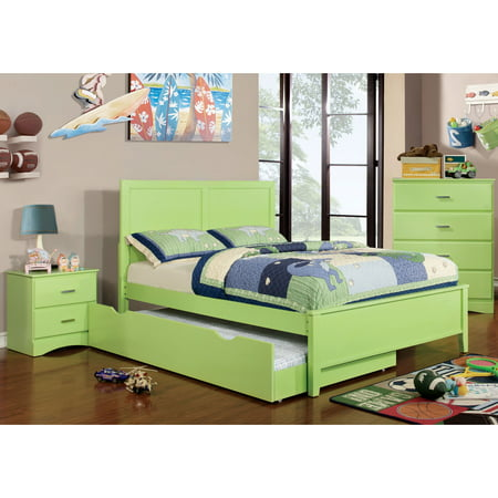 new style dd177 87aaa Furniture of America Colorpop 4-piece Full-size Youth ...