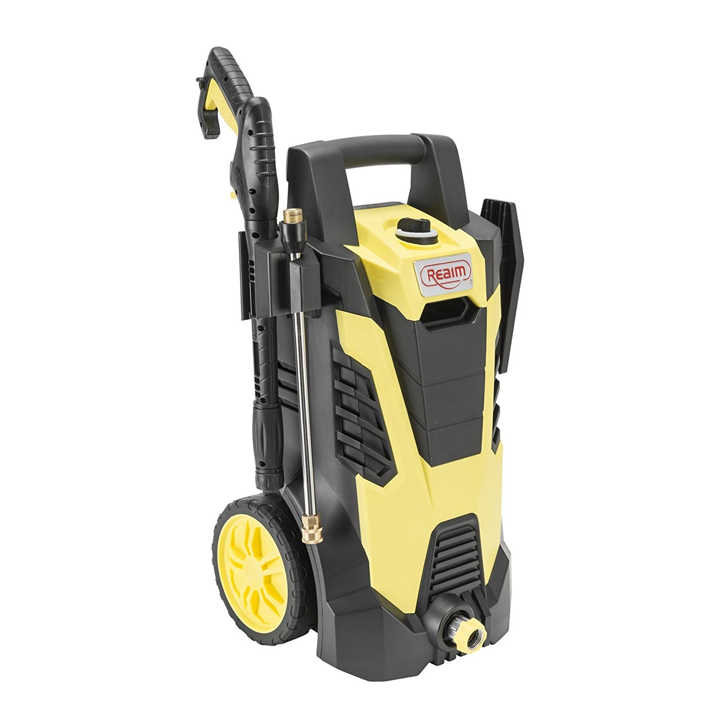 BY02-BCMT, Electric Pressure Washer, 2100 PSI, 1.75 GPM, 14.5 Amp, Yellow Black