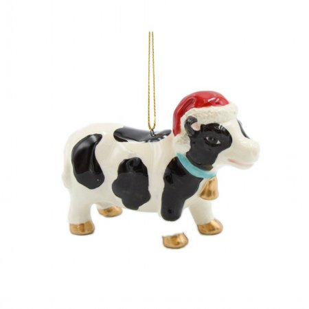 Christmas Cow Ornament - Cow Christmas Ornaments