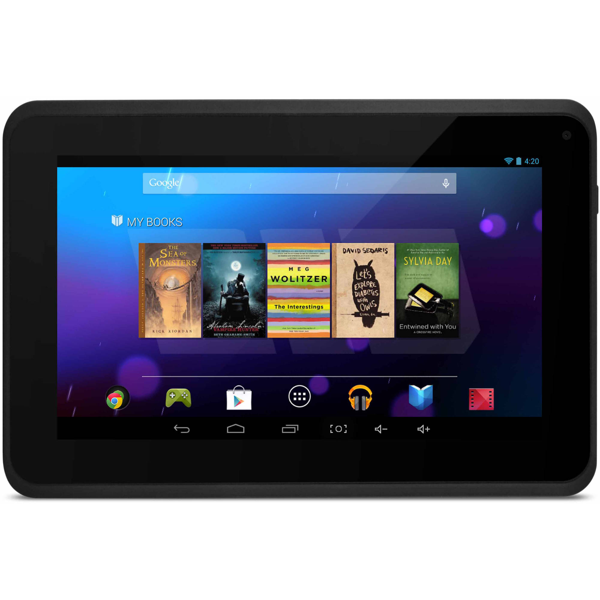 "Refurbished Ematic with WiFi 7"" Touchscreen Tablet PC Featuring Android 4.2 (Jelly Bean) Operating System"